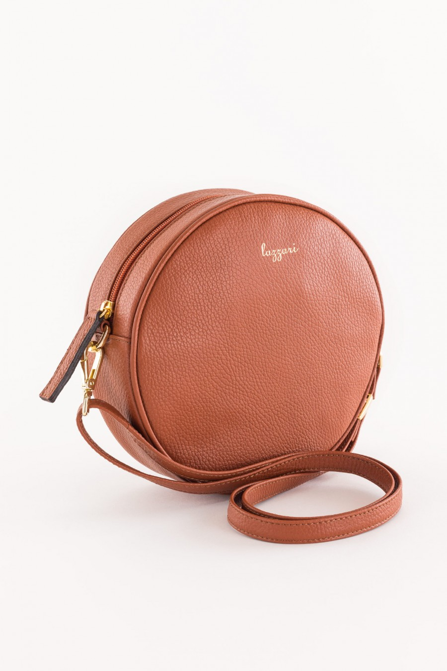 leather-colored bag