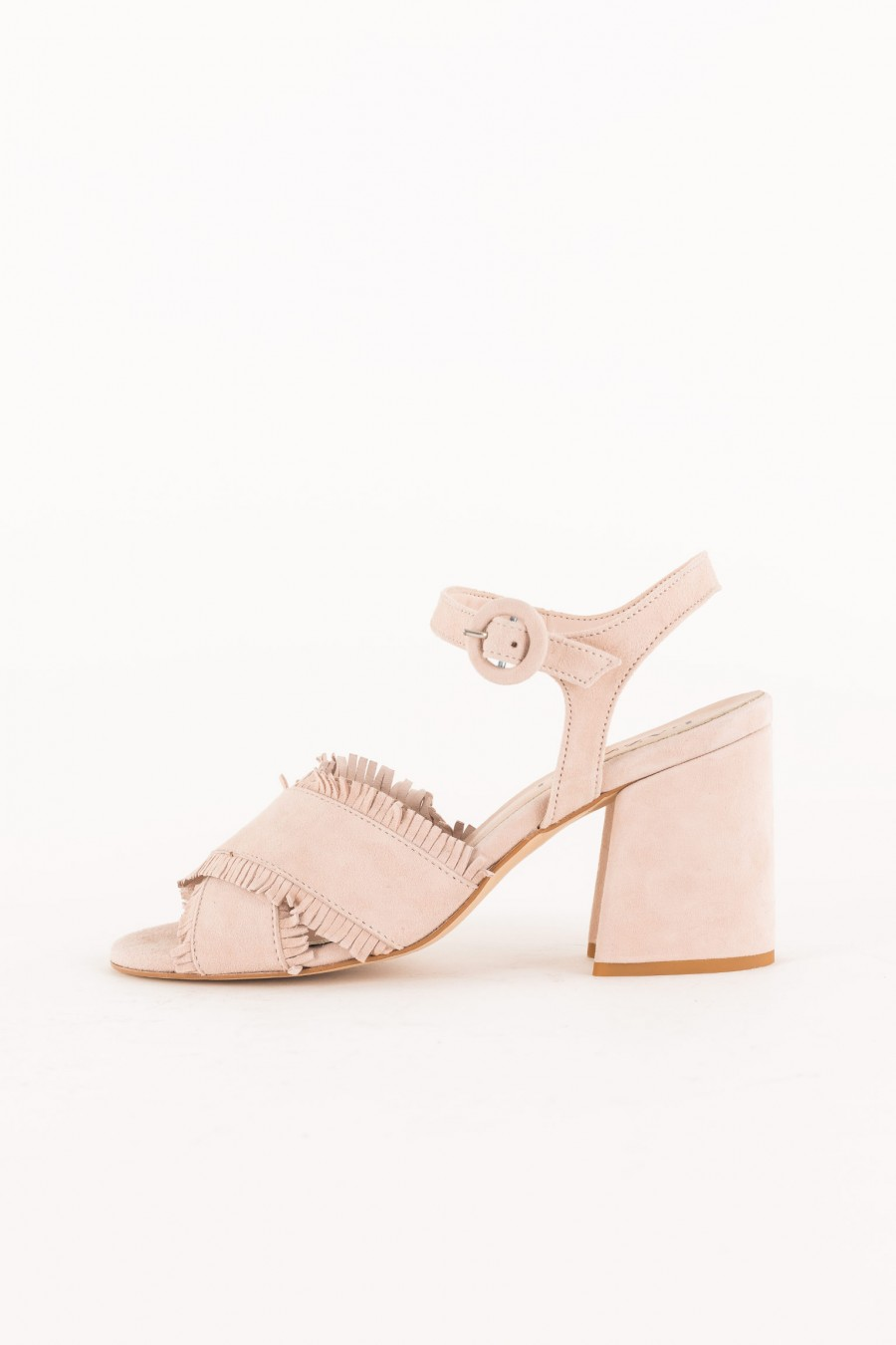 powder pink sandal