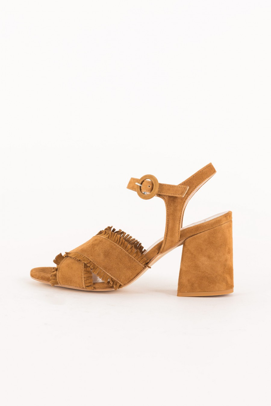 leather-colored sandal