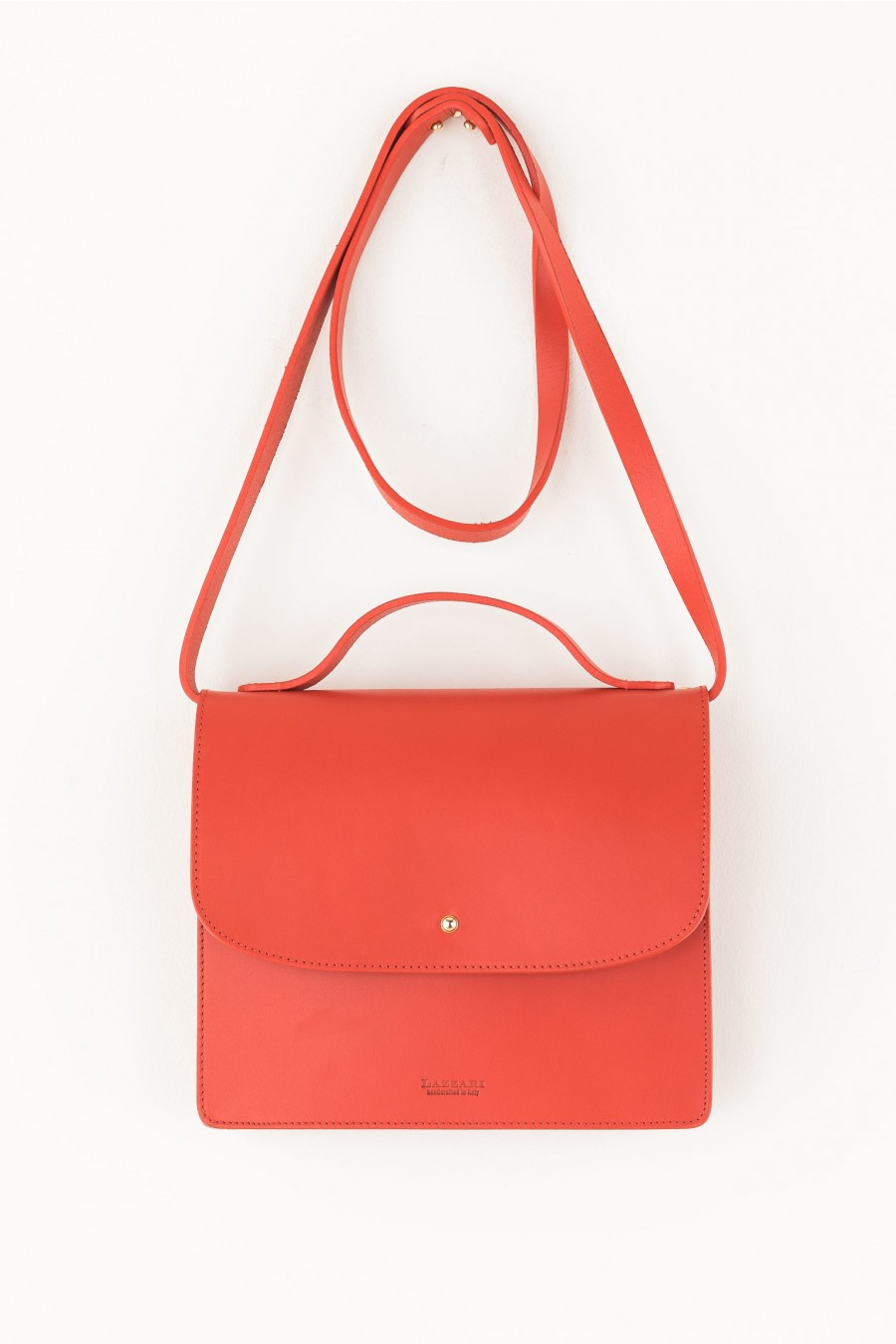 Coral bag with adjustable strap