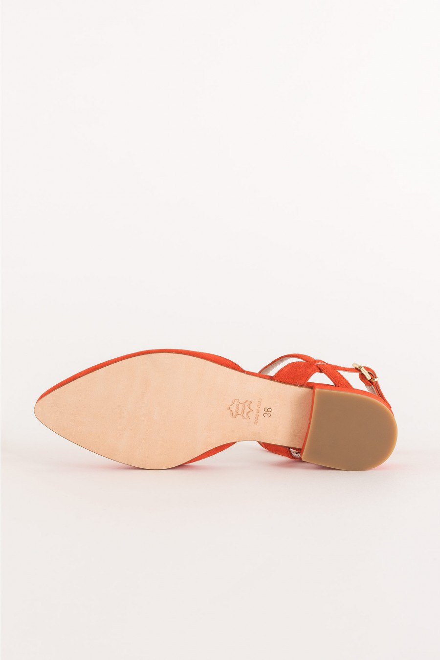 coral-colored ballerina