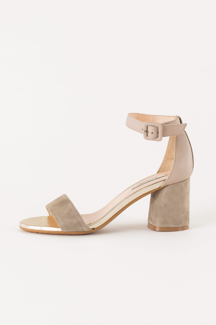 sandal with ankle strap