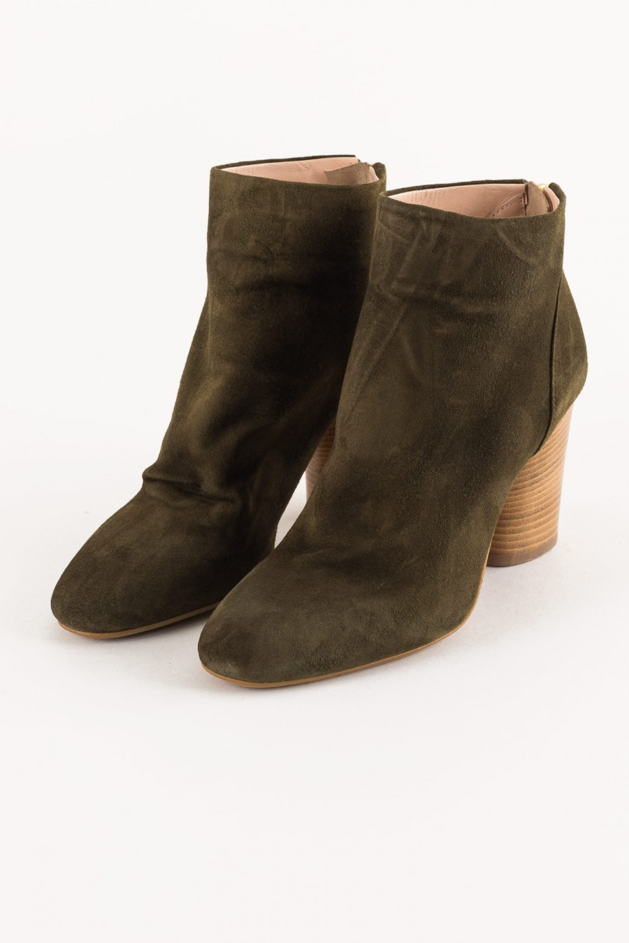 military-colored boot