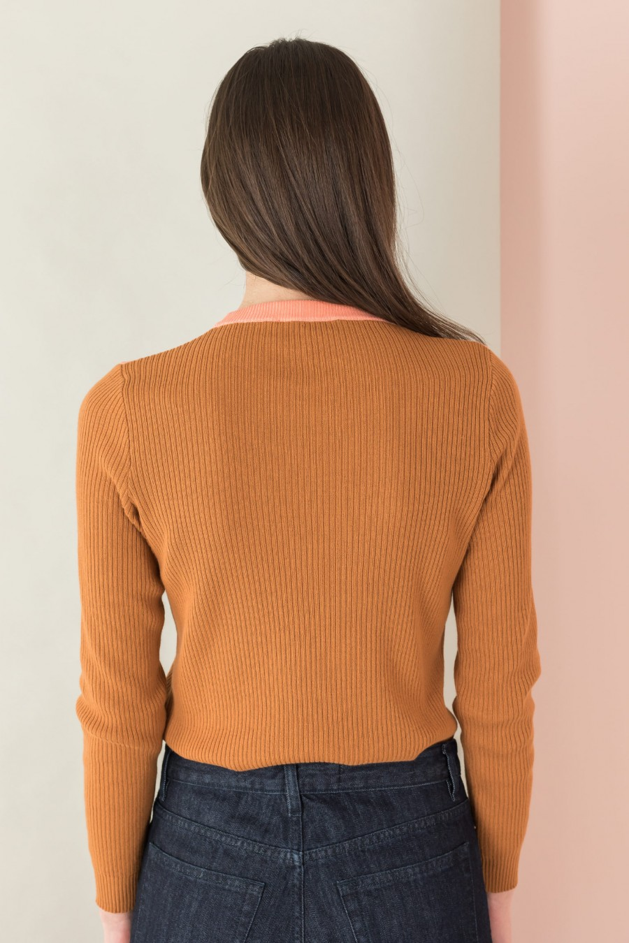 biscuit-colored sweater