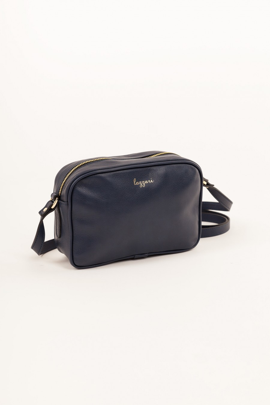 Shoulder bag rectangular blue