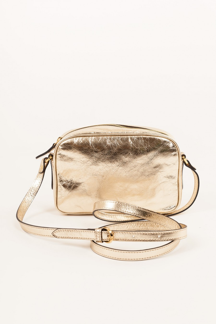 Shoulder bag Lazzari gold
