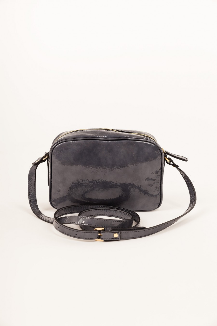 Lazzari bag patent leather rectangular