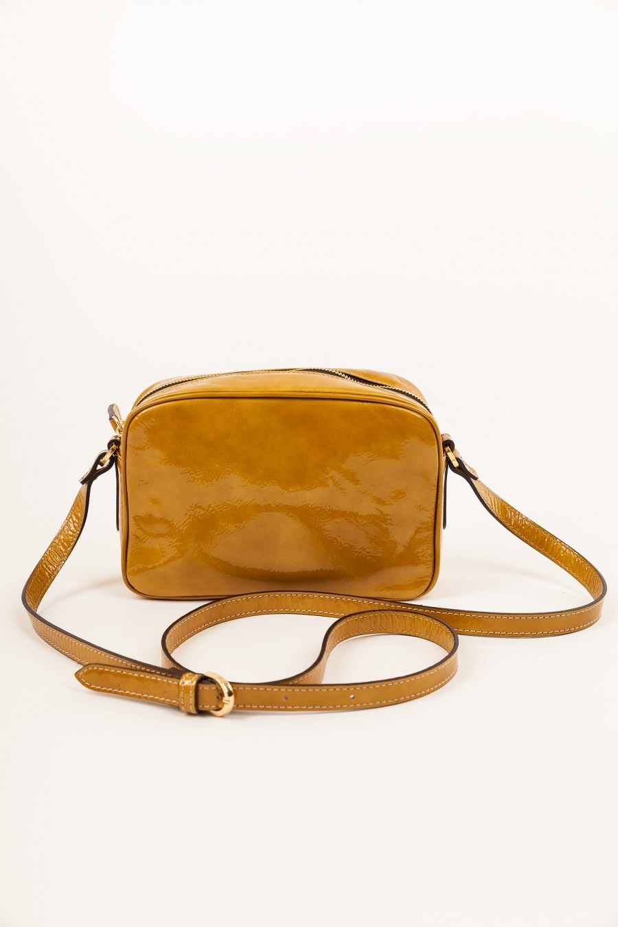 patent leather lazzari bag