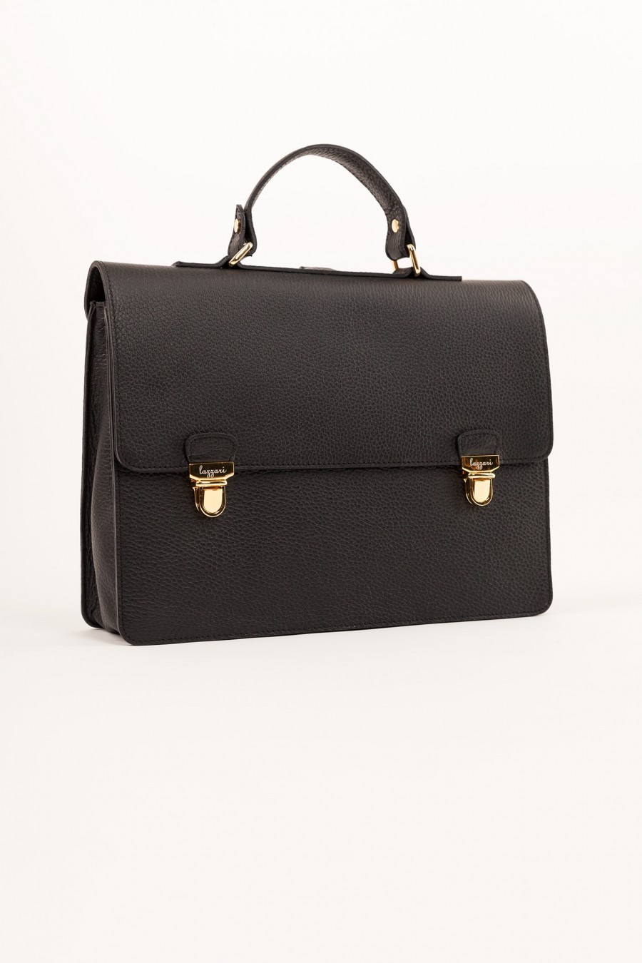 leather satchel Lazzari
