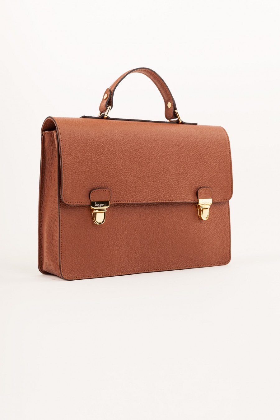 leather briefcase Lazzari