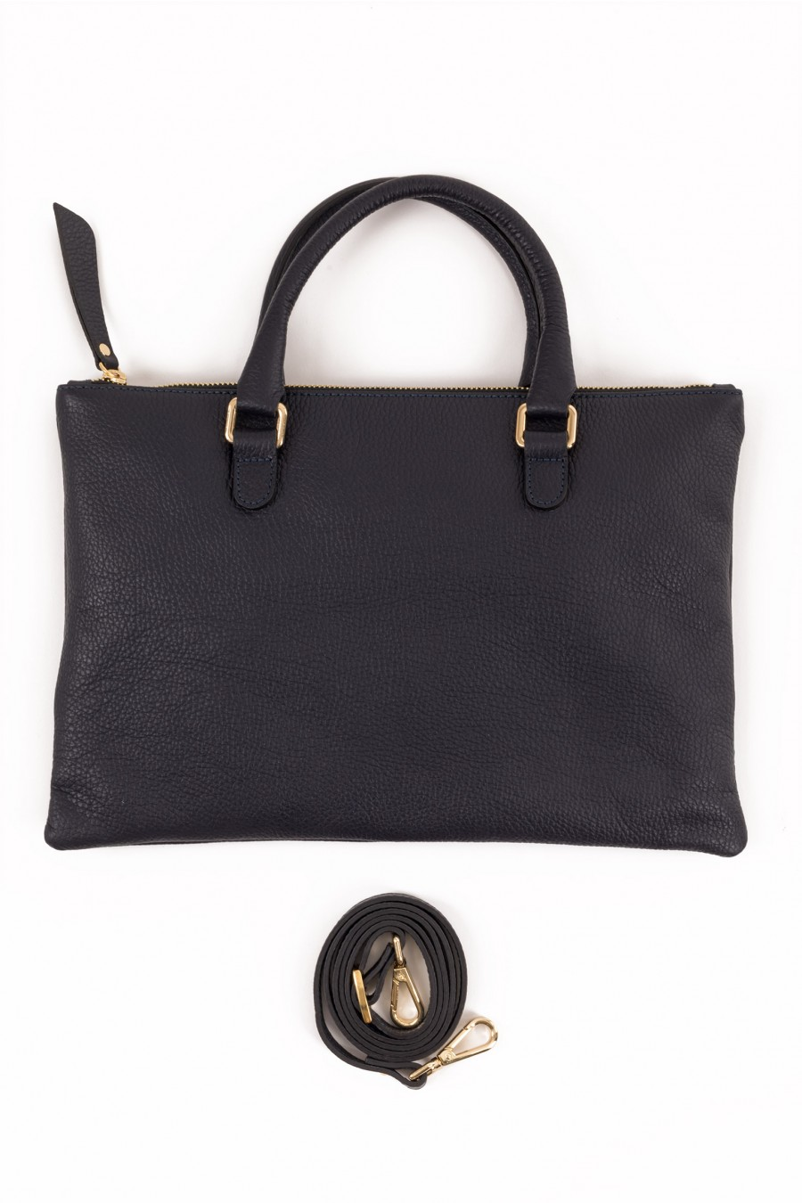 Mini bag with removable shoulder belt