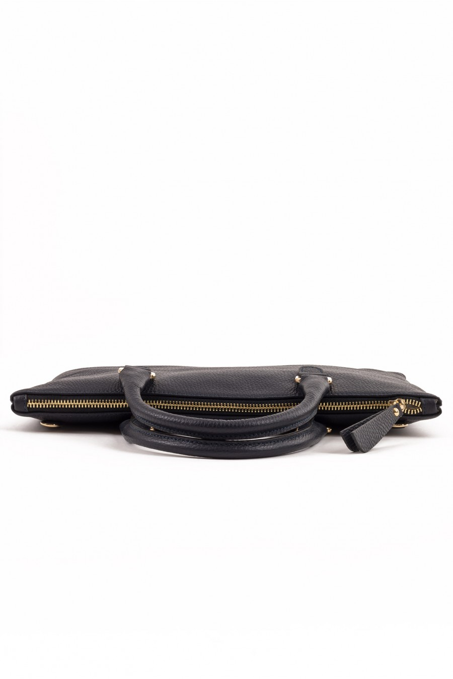 Genuine leather mini bag