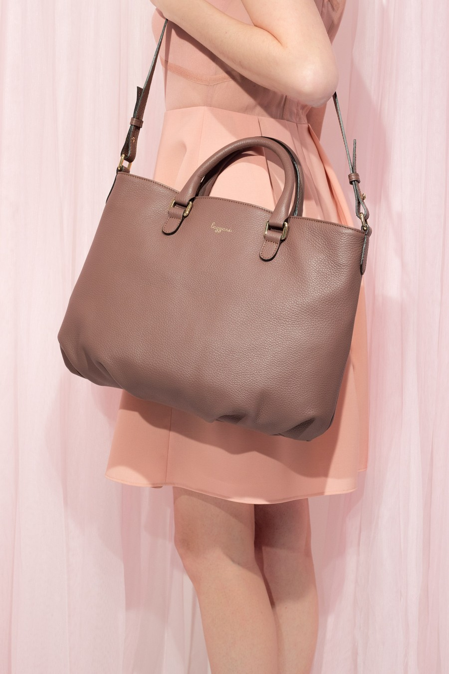 Shopping bag malva