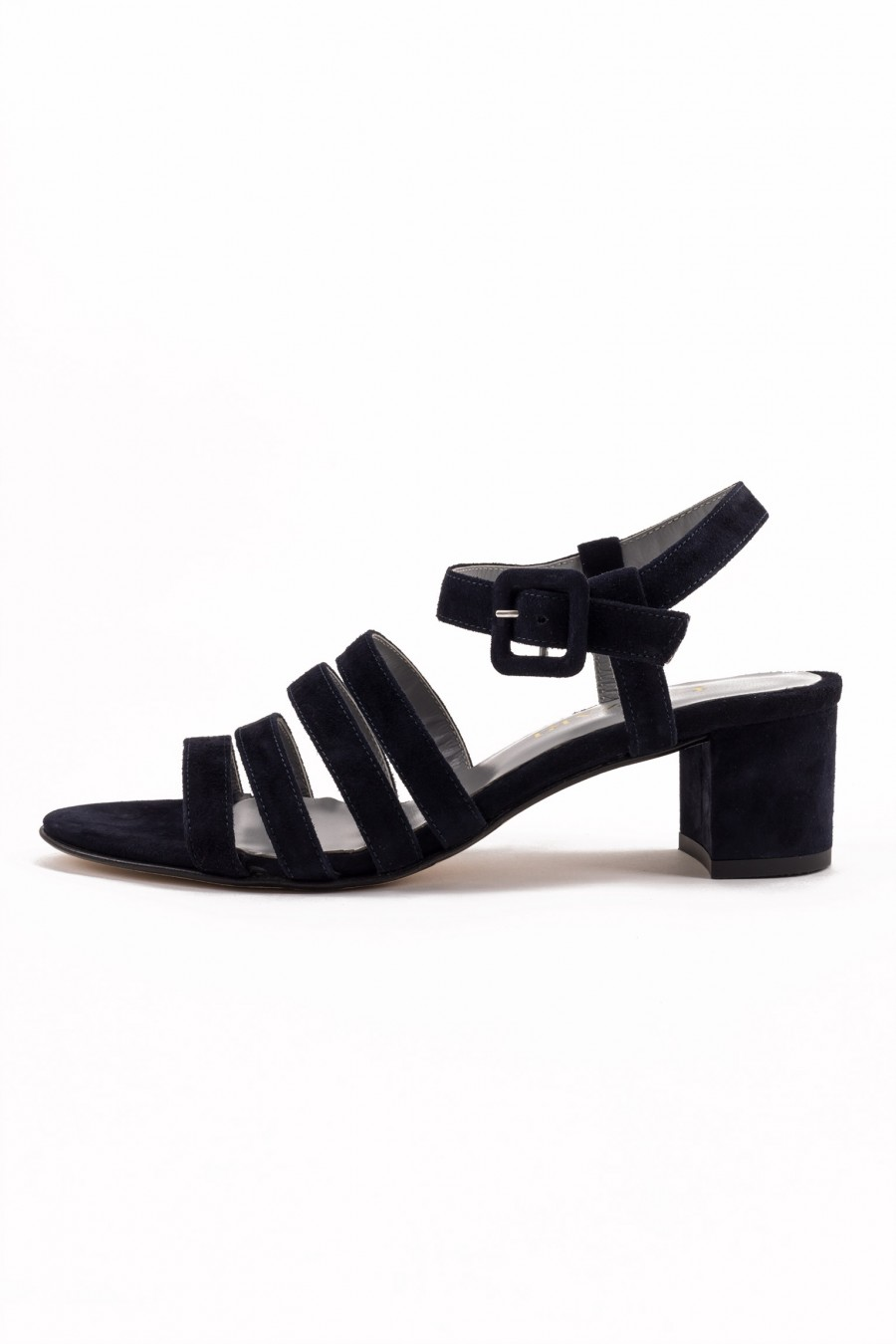 Sandal with medium heel