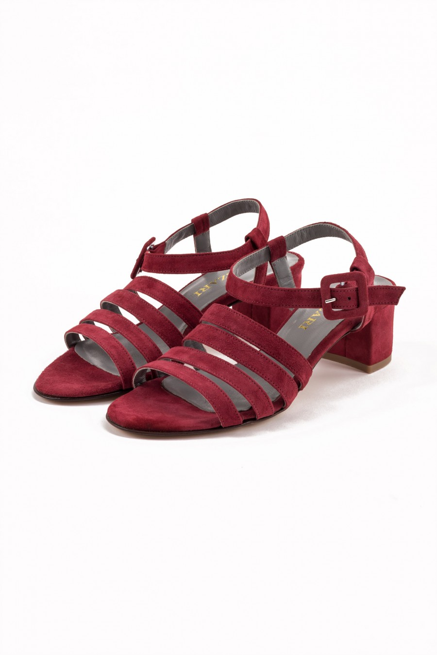 Elegant red sandal