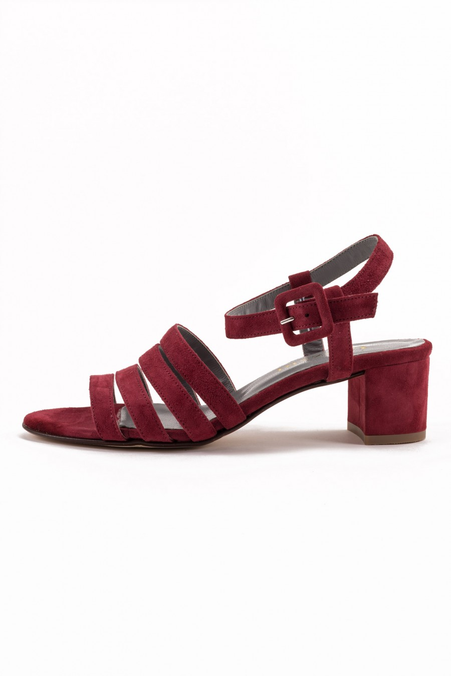Ruby red sandal