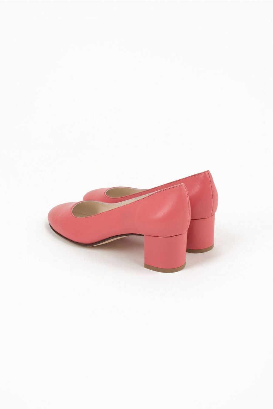 mid heel shoes rounded point