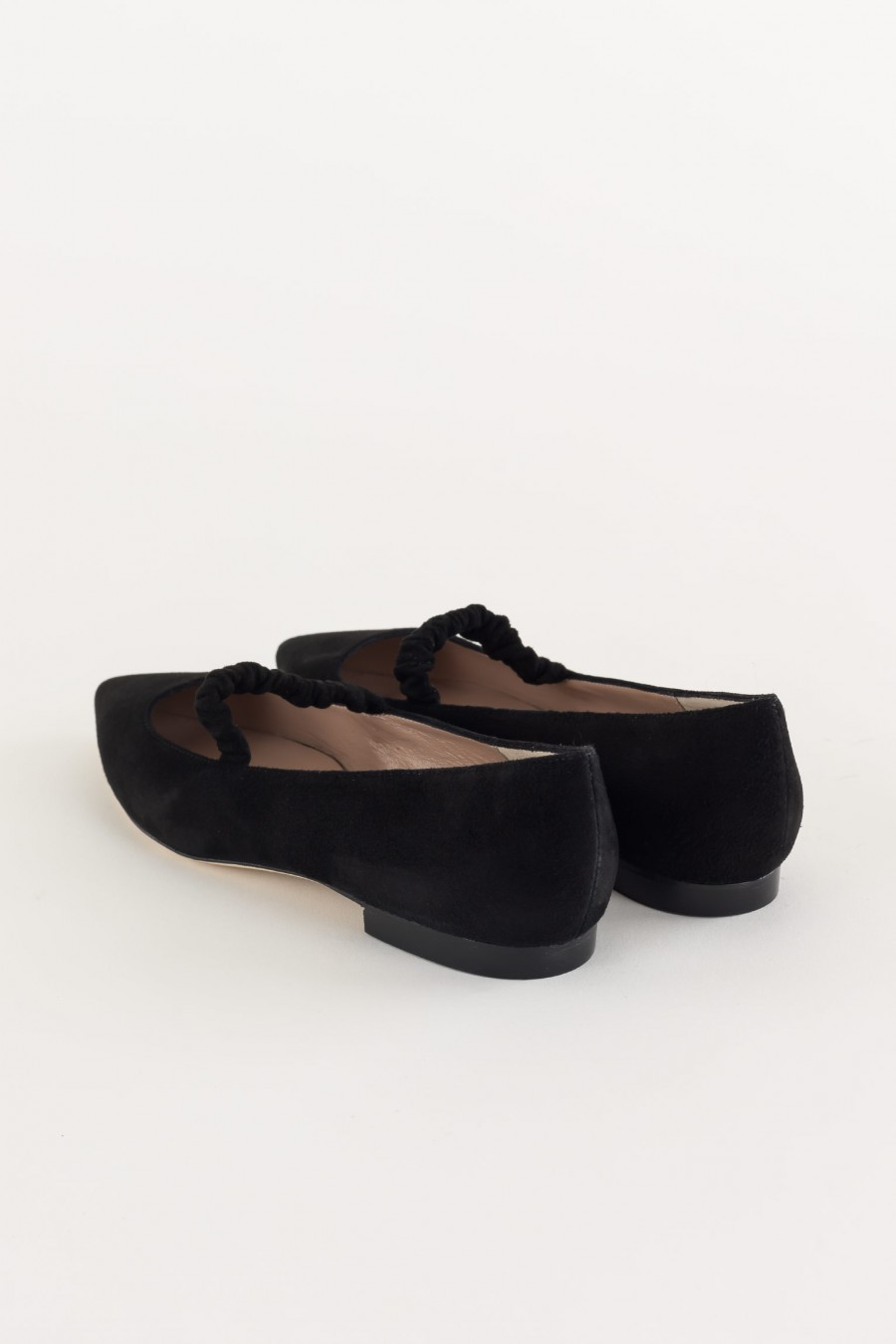 Ballerine block color nere