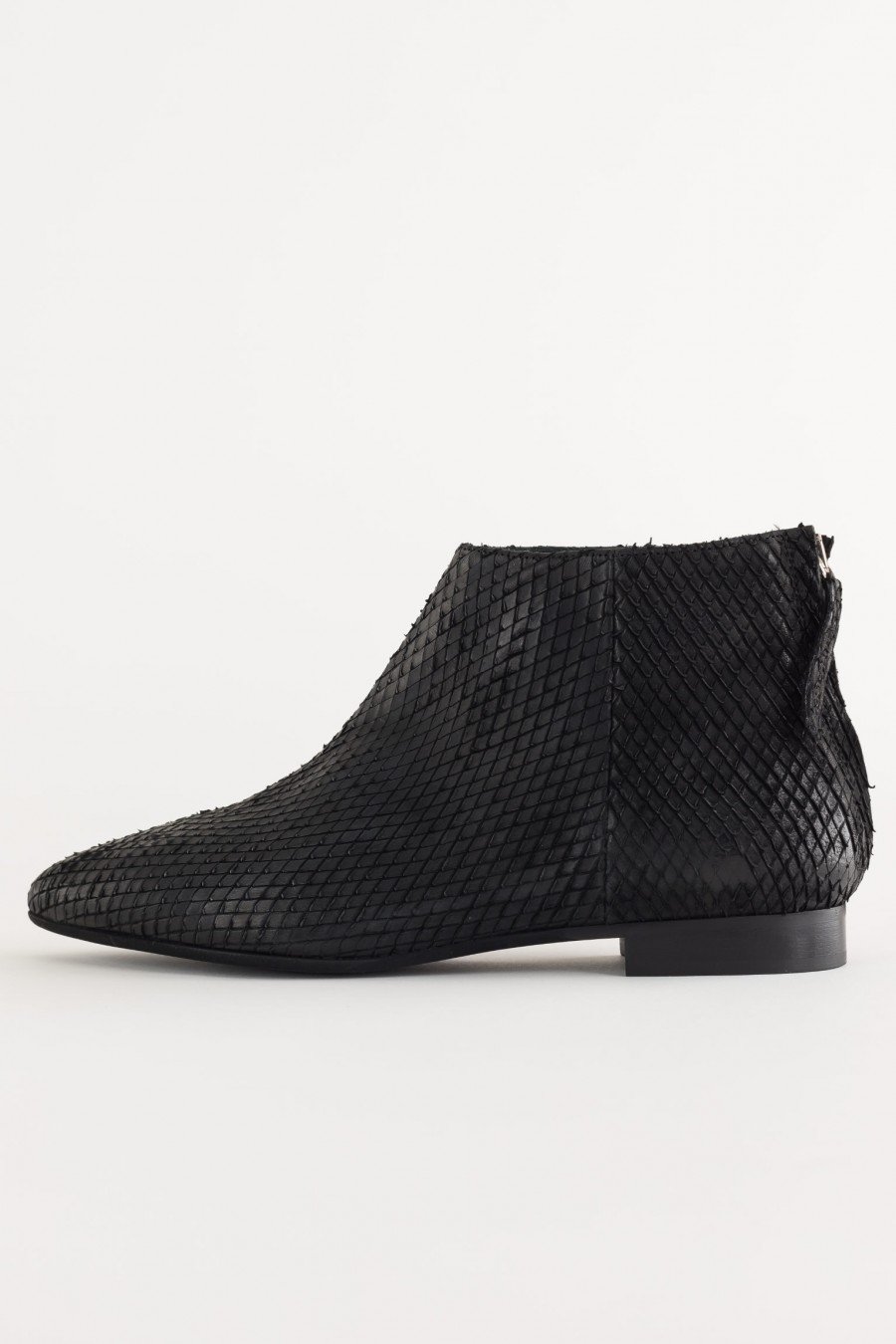 Everyday black ankle boots