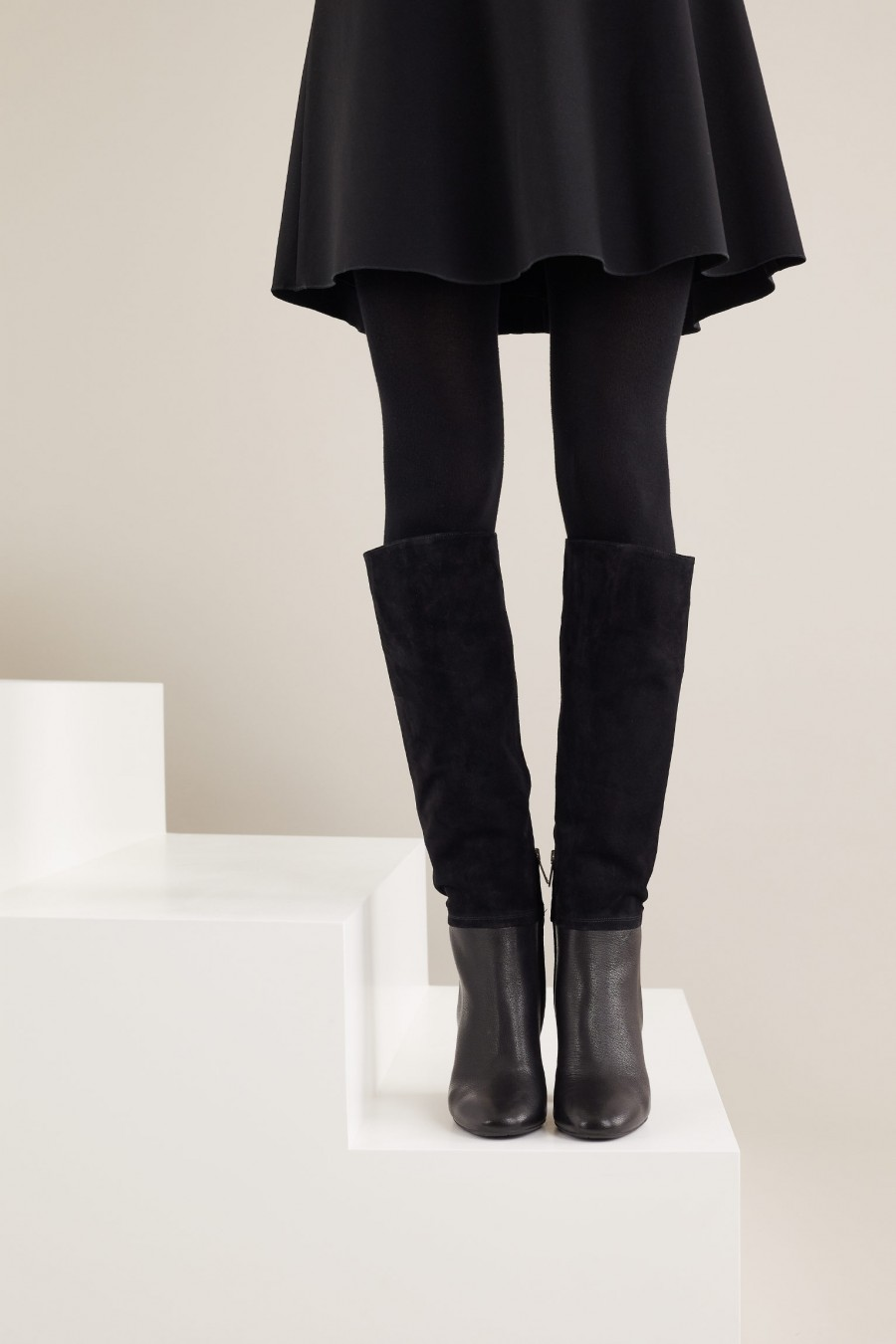 Under the knee boots