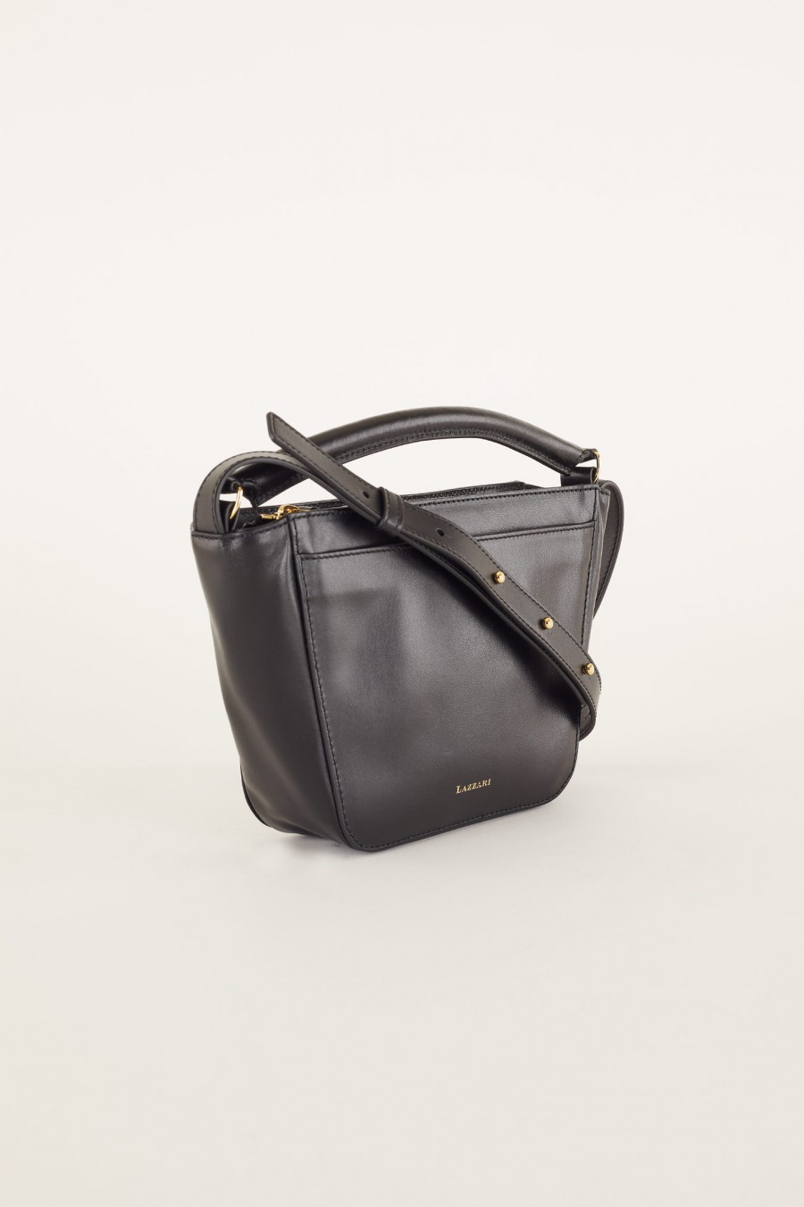 leather trapeze bag