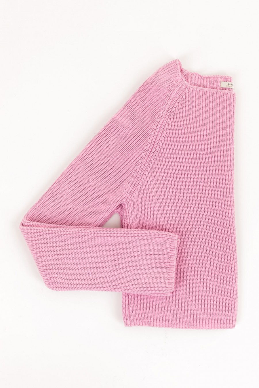 Maglioncino cropped rosa