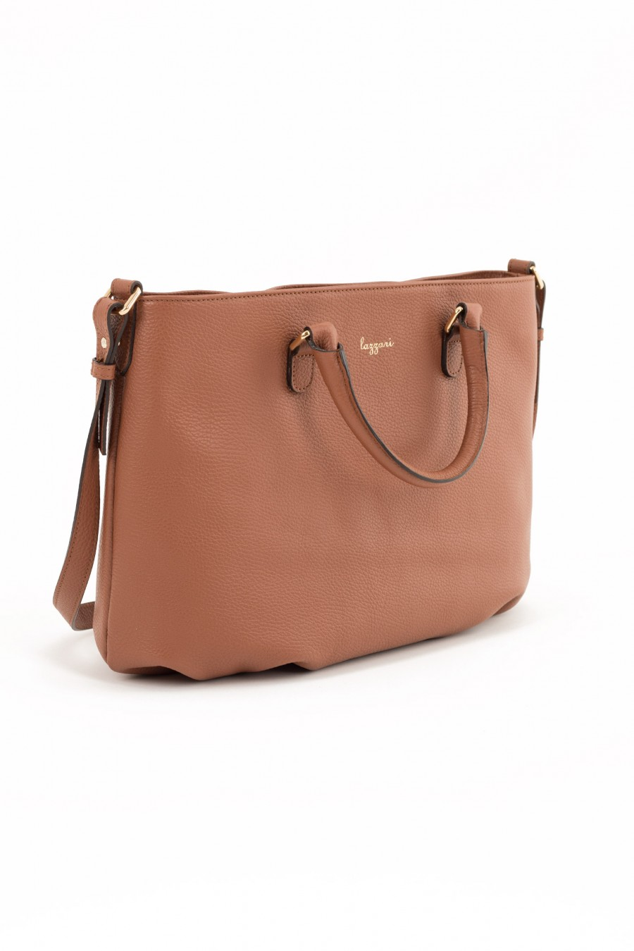Leather brown large bag