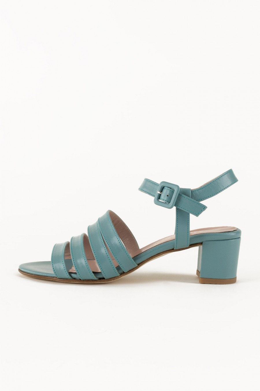 Elegant light blue sandals