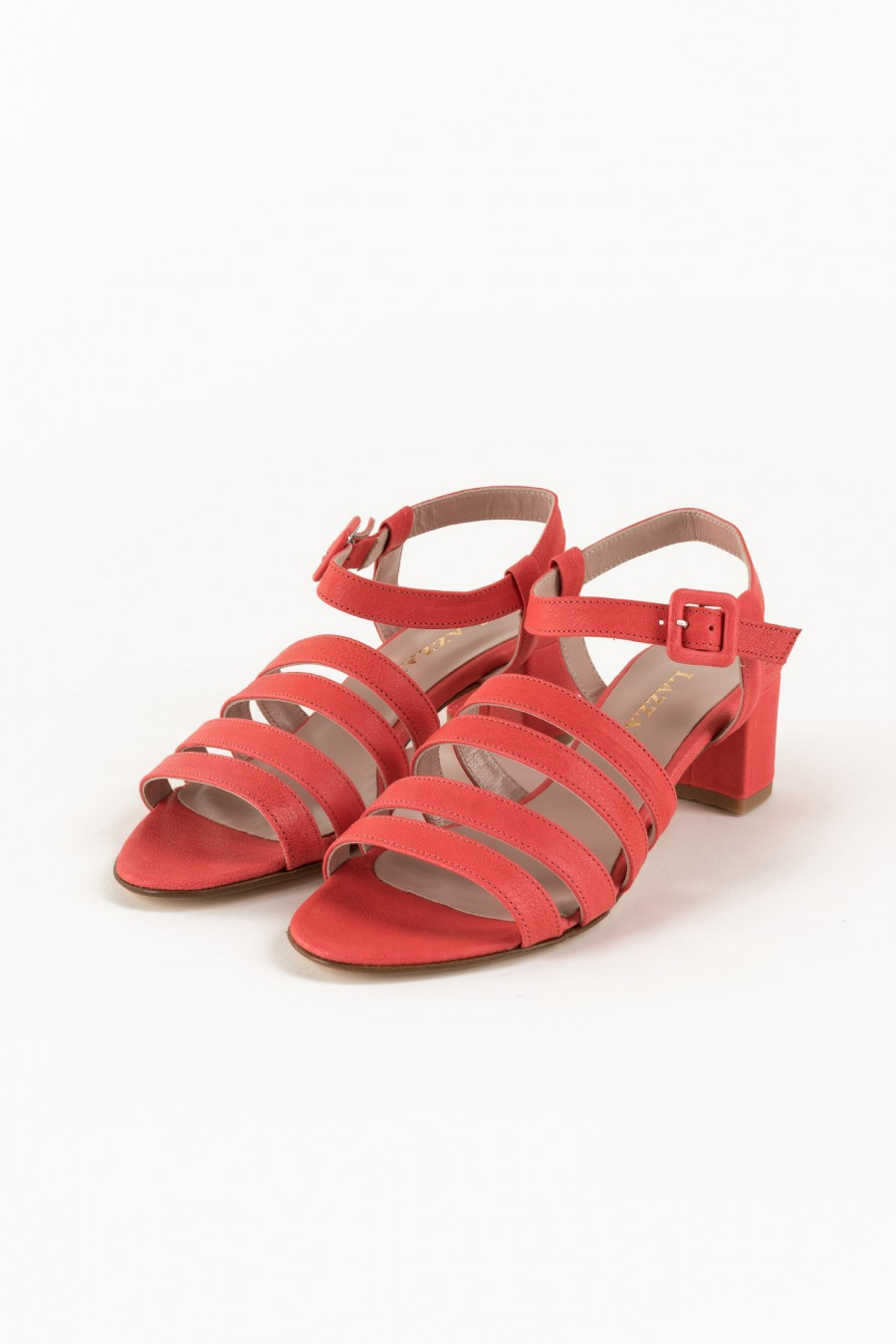Lobster sandals with lists