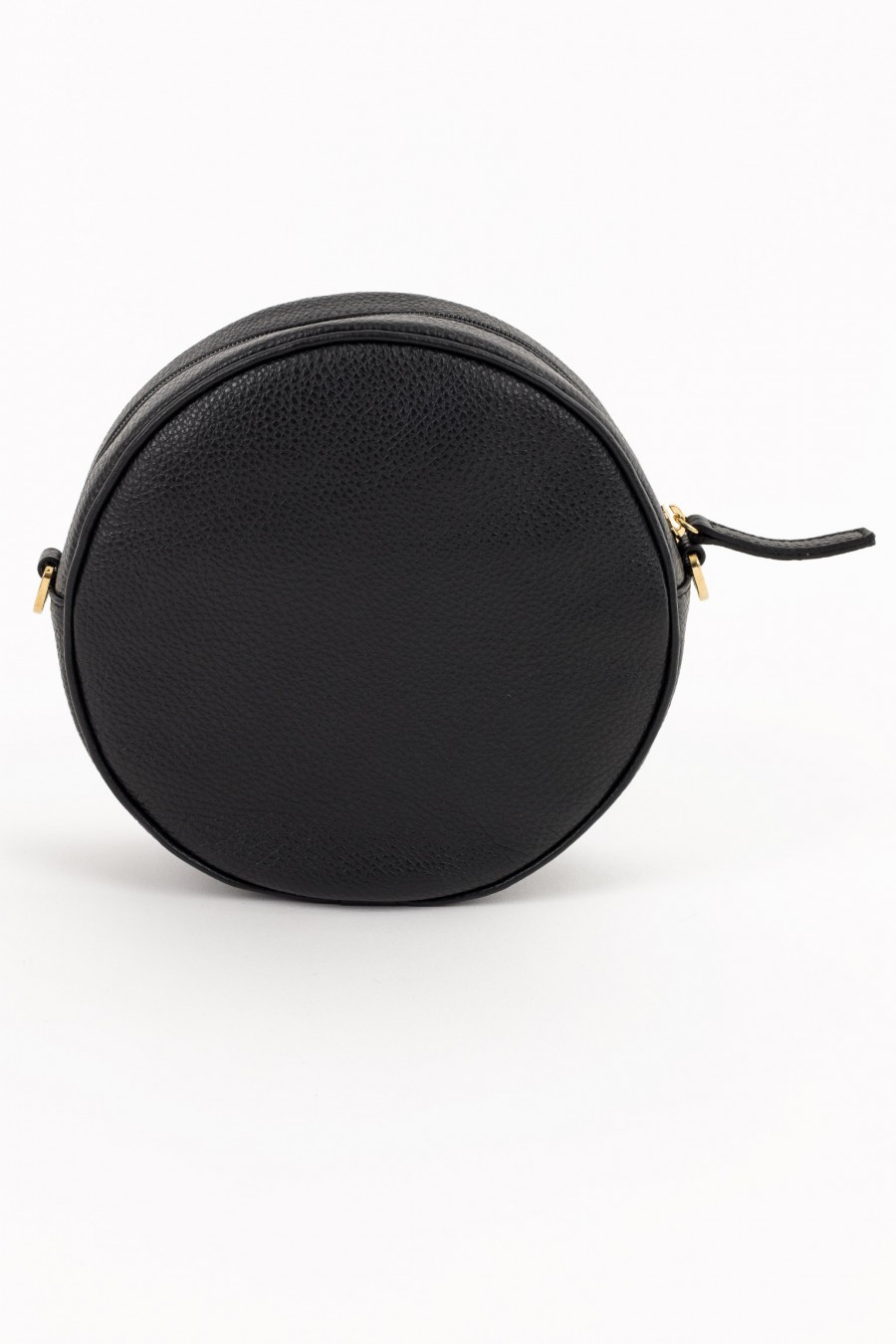 Round bag with zip