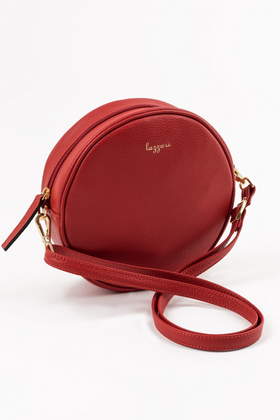 Round red bag