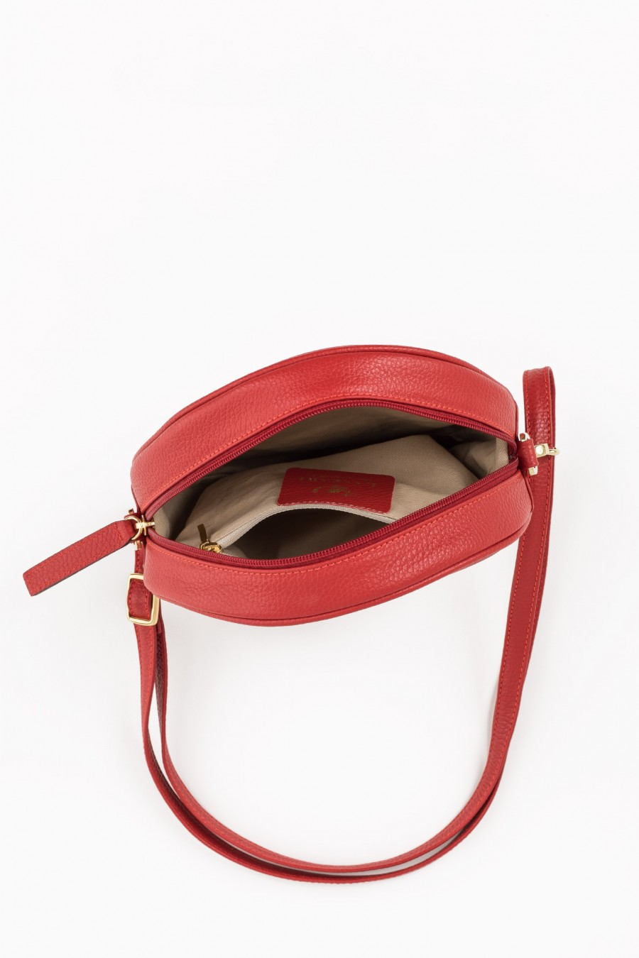 Red lined bag