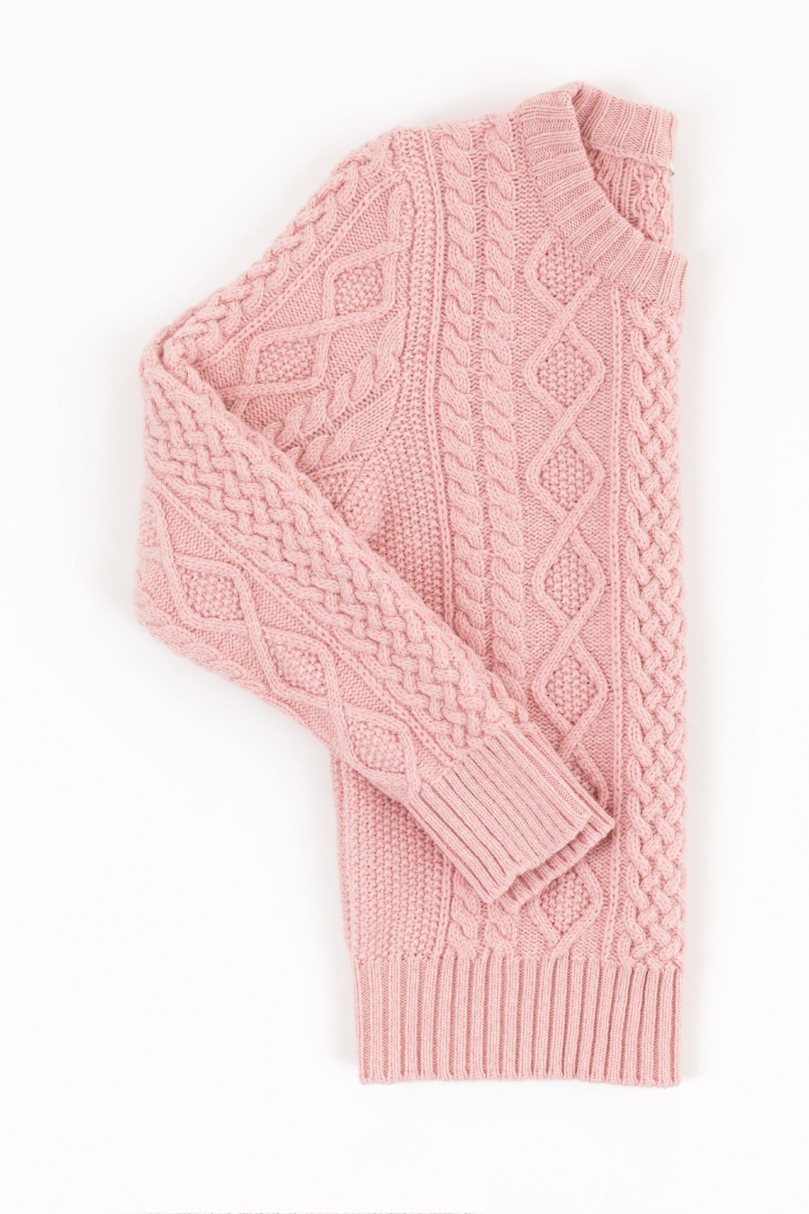 Pink fisherman jumper