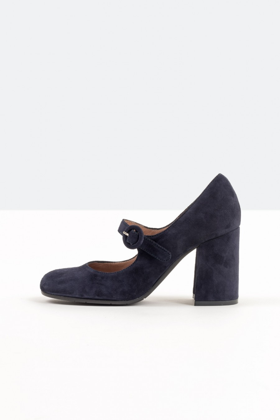 Blue suede Lazzari Mary Jane