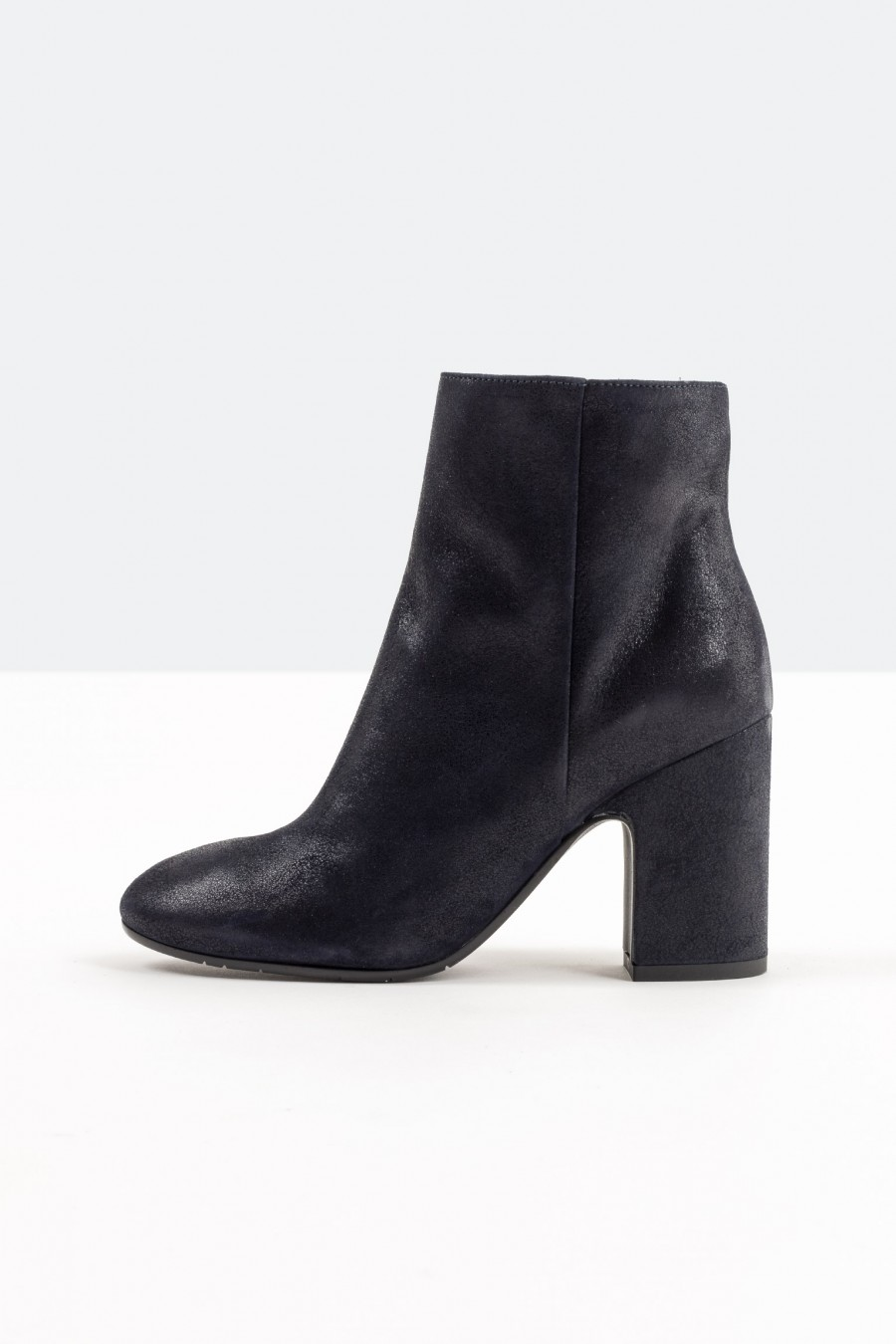 Lazzari blue leather ankle boots