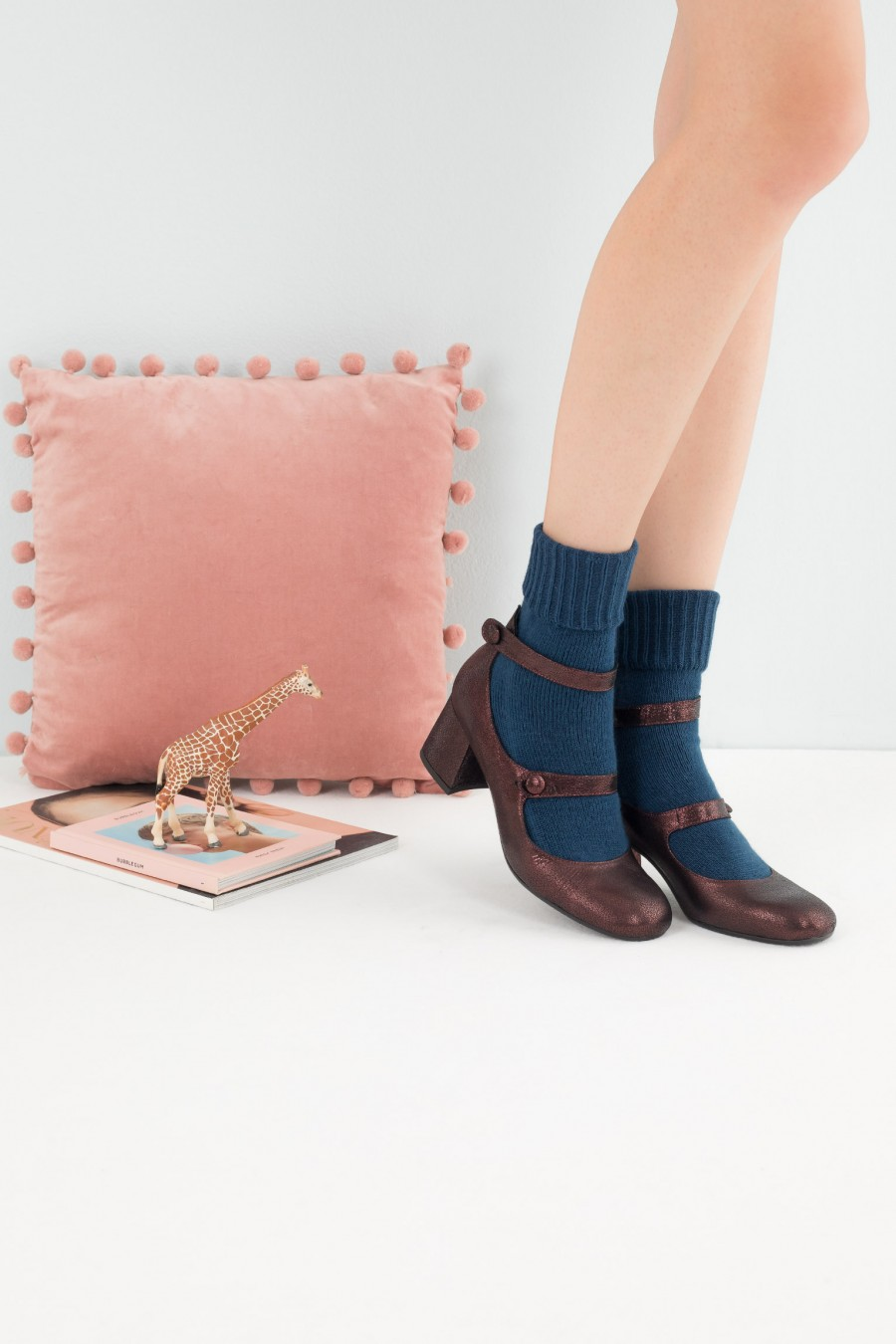 Lazzari autumnal Mary Jane shoes
