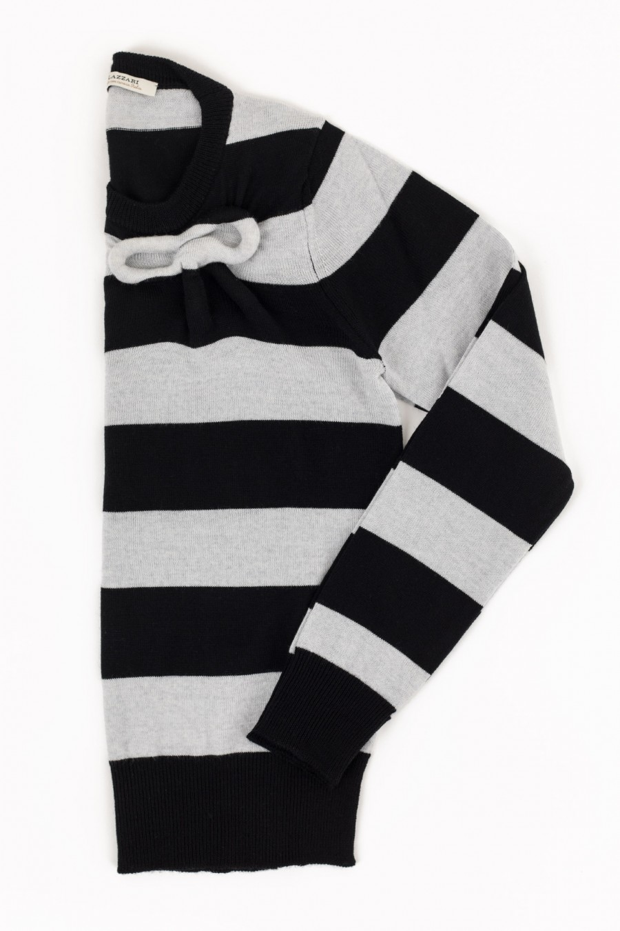 Black and stripy top