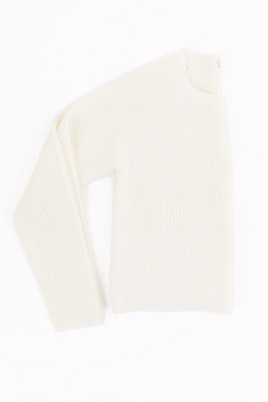 Maglioncino cropped bianco