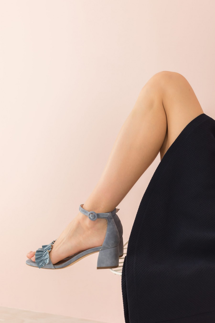 ceremony light blue sandal