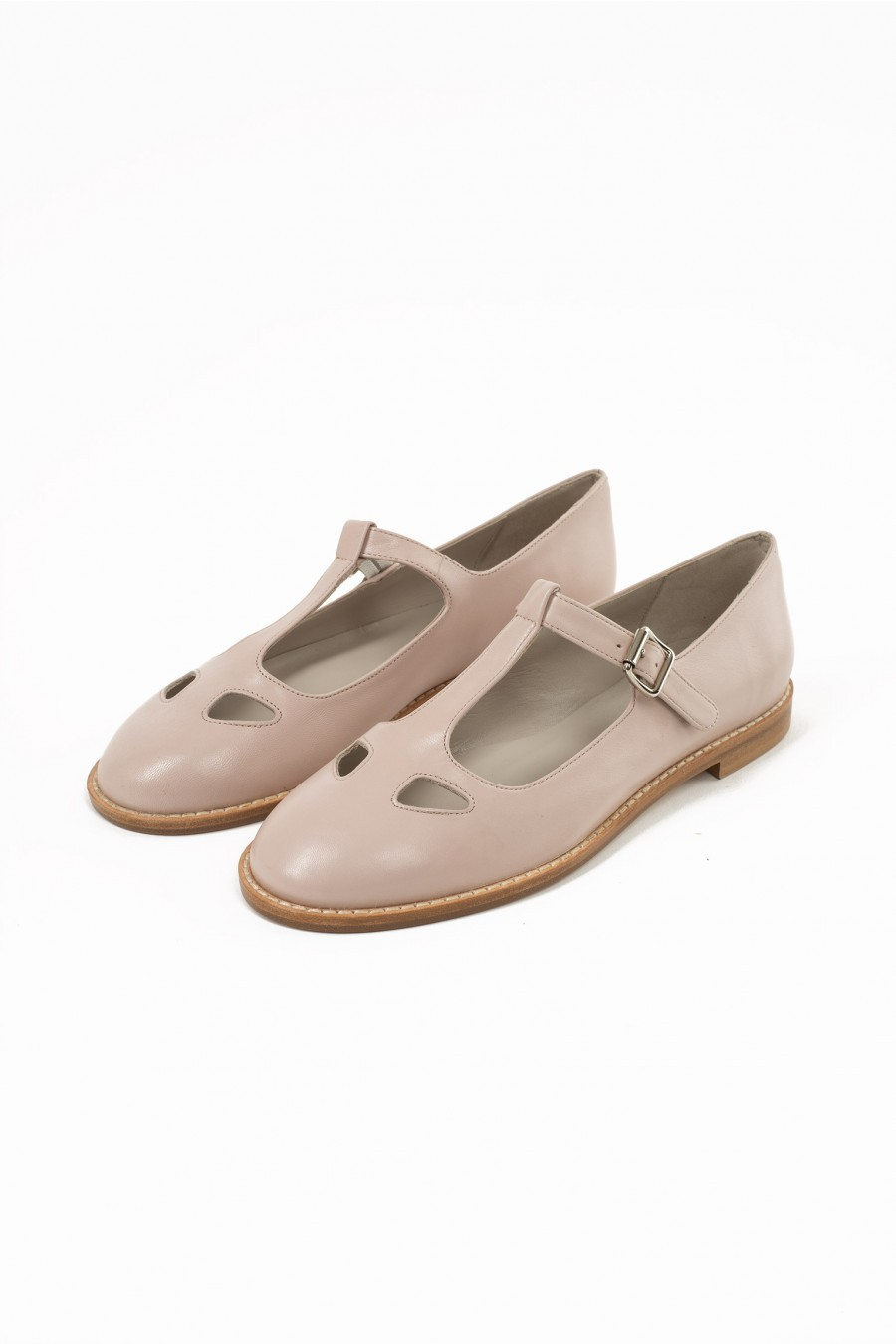 pale pink Lazzari shoes